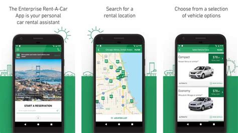 Car Apps For by 10 Best Car Rental Apps For Android Android Authority