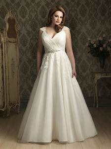 Plus size wedding dresses ball gown for Plus sized wedding dresses