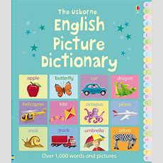"""english Picture Dictionary"" At Usborne Children's Books"