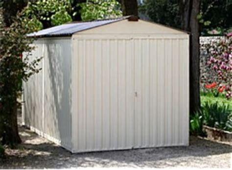 abri de jardin en tole galvanise garage en tole galva en acier galvanis 233 abri voiture en m 233 tal promo