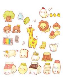 Korean Cute Kawaii Drawings