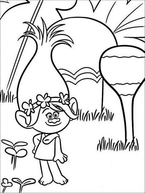 Kirby Kleurplaat Woods by Desenhos Para Colorir Dos Trolls