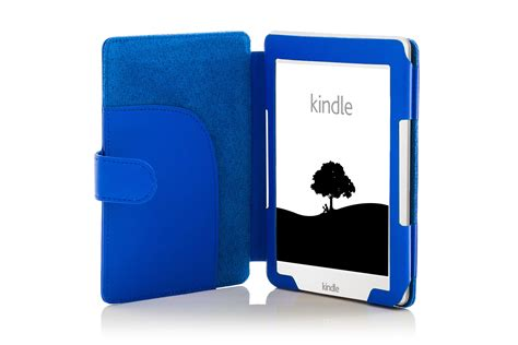kindle blue light forefront cases 174 leather blue cover with light