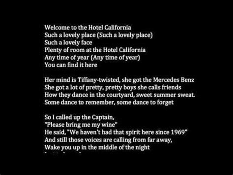 [fulldownload] Eagleshotelcalifornialyrics