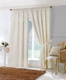 Living Room Curtains At Walmart by Rosa Cream Lined Pencil Pleat Voile Curtain Curtains Uk