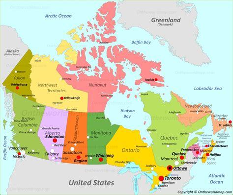 canada maps maps  canada