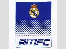 Offiziell FC verblassen Vlies Decken Real Madrid