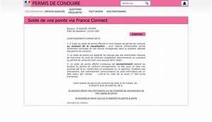 Permis De Conduire Nombre De Points : solde point permis france ~ Medecine-chirurgie-esthetiques.com Avis de Voitures