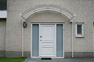 Auvent abri de porte dentree bruxelles charleroi for Abri porte entrée