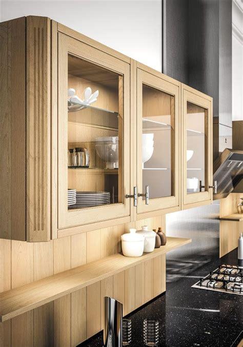 porte cuisine bois porte vitrée sagne cuisines