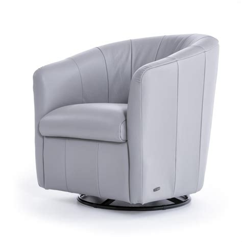 natuzzi editions natuzzi contemporary barrel swivel chair