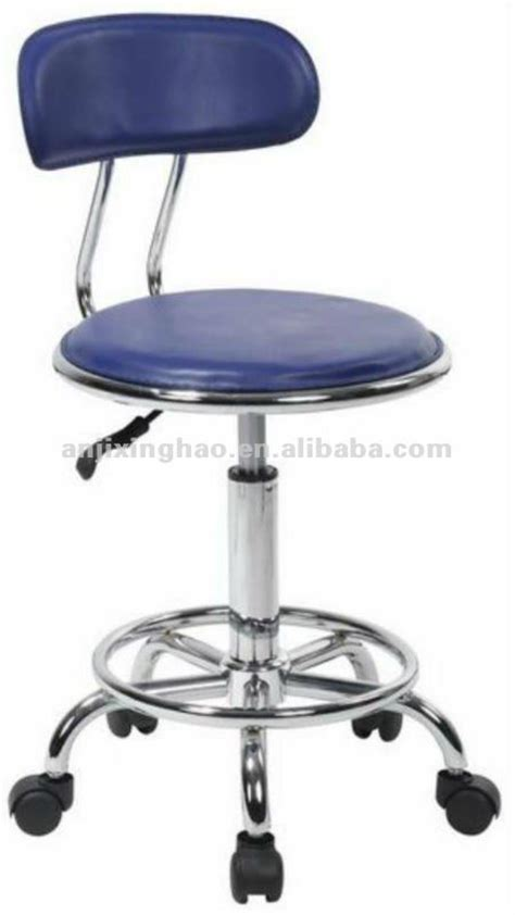 adjustable swivel pvc bar stool with wheels xh 226 2 photo