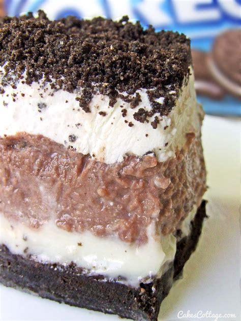 pudding and dessert recipes oreo delight with chocolate pudding cakescottage
