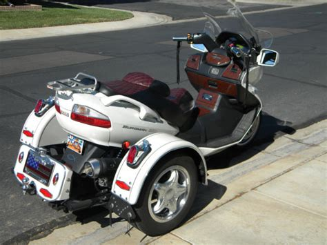 650 Burgman Voyager Trike Three 3 Wheeler Many Extras Low