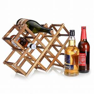 Foldable, Wooden, Wine, Rack, Small, Wine, Holder, Storage, Table, Free, Standing, Wine, Rack, For, Countertop