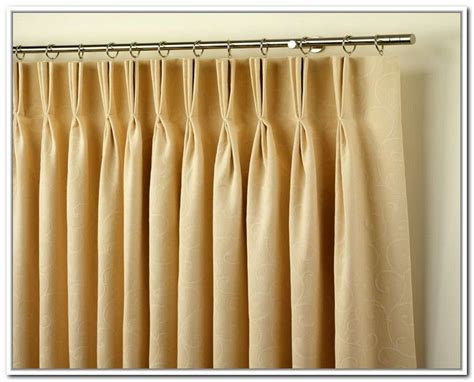Traverse Rods For Drapes - pinch pleated drapes for traverse rods keep it simple