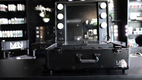 makeup artist network black studio makeup case  led