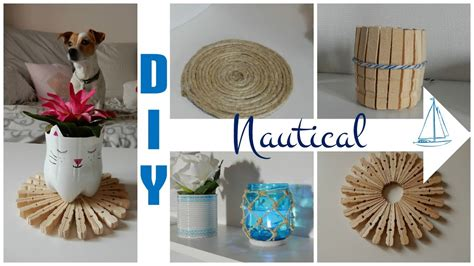 nautical themed room decor  beach decor diy deco