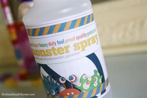 diy monster spray