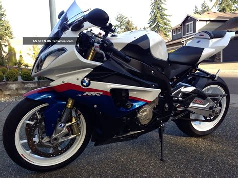 2011 Bmw S1000rr Many Upgrades, All Options