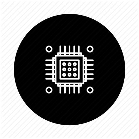 silicon logo black chip circuit ic integratedcircuit microchip