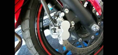 How To Change The Front Brake Pads On A Motorcycle