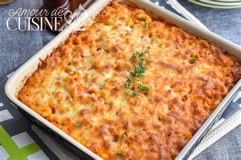amour de cuisine gratin de pates au thon amour de cuisine