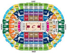 cavs seat chart cavaliers seating chart by seats