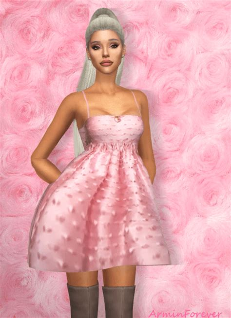 armin forevers ariana grande dress sweet sims  finds