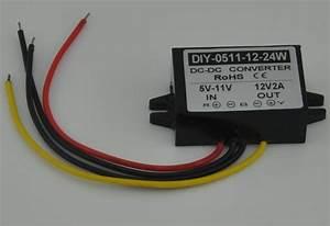 Converter Dc 5v 6v 7v 8v 9v 10v 11v To 12v 2a 24w Dc Dc