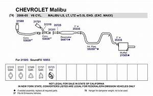 31 2004 Chevy Malibu Exhaust System Diagram