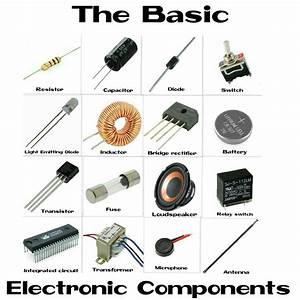 Electronic Component Basics  List Of Components And It