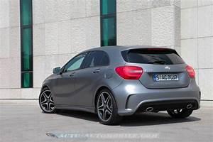 Mercedes Classe A 200 Fascination : essai nouvelle mercedes classe a 200 cdi 250 sport actu automobile ~ Gottalentnigeria.com Avis de Voitures