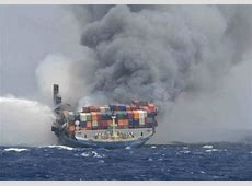 BurnedOut MOL Comfort's Fore Part Sunk World Maritime News