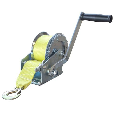 Boat Trailer Winch Canadian Tire by Sportsman 1 400 Lbs Winch With Hook 801811 The