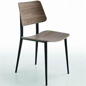 Chaise Vintage Bois : chaise vintage en bois et m tal joe midj 4 ~ Teatrodelosmanantiales.com Idées de Décoration