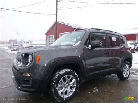2016 granite metallic jeep renegade latitude 4x4