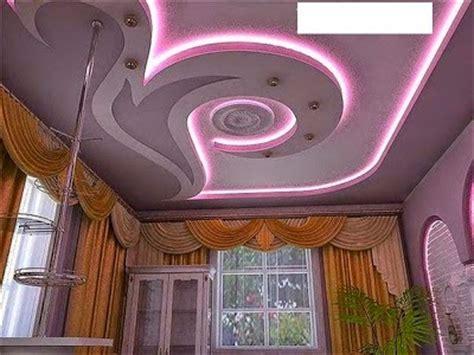 10 unique false ceiling designs made of gypsum board