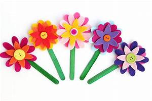 Felt Flower Bookmarks - Happiness is Homemade