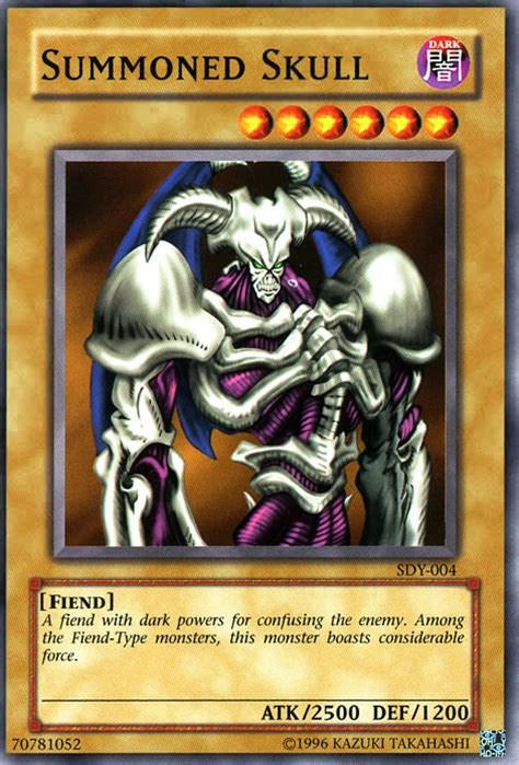 Summoned Skull Deck Build by Summoned Skull Sdy 004 Non Holo At Yu Gi Oh Cards Net