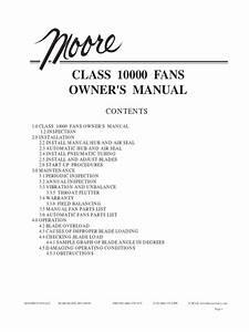Manual Ventilador Moore Tmc 704 Revj Pdf