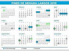Los feriados del 2018 y 2019 Revista Aire Libre