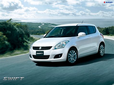 Maruti Suzuki Swift White Wallpaper