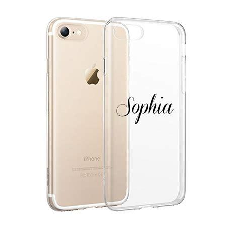 custom  transparent clear tpu case  iphone