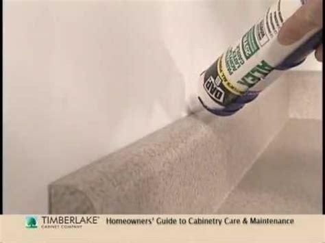 caulking gaps a homeowner howto youtube