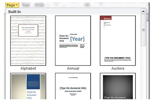 download cover page untuk microsoft word 2010