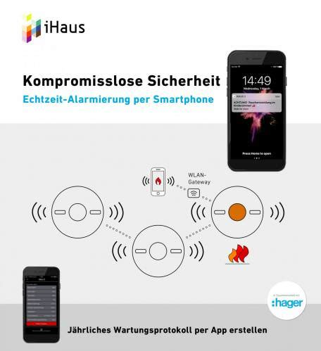 funk rauchmelder er set kaufen hager smart home ready