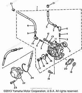 Yamaha Snowmobile 1984 Oem Parts Diagram For Oil Pump