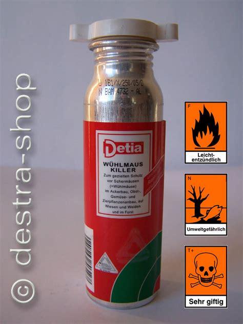 Carbid Gegen W Hlm Use 1472 by Detia W 252 Hlmaus Killer Detia Wuehlmaus Killer 250 G Detia
