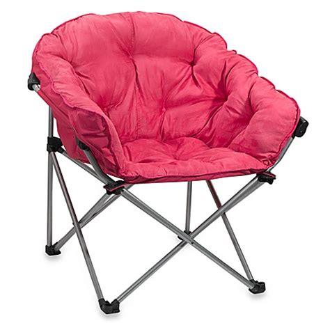 folding club chair  pink bed bath